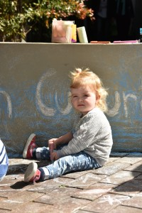 Festival of Mosman - Talk and Chalk - Toddler